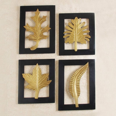 4 Wooden Painting Set