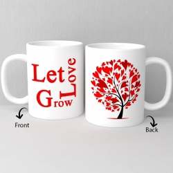 Let The Love Grow Ceramic Mug