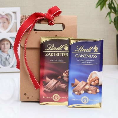 Lindt Chocolates in a Goodie Bag