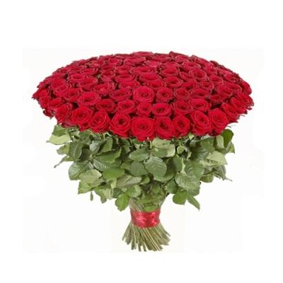 100 Long Red Roses