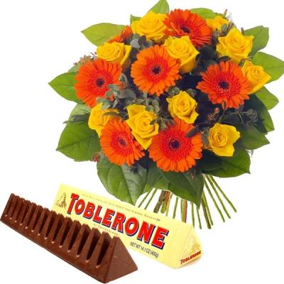 Bright N  Sunny with Toblerone Wishes