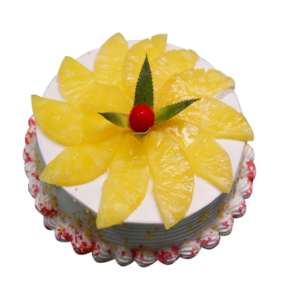 Eggless Pineapple Cake Direct From Five Star Bakery