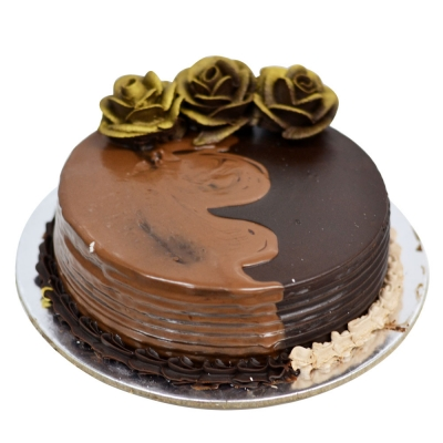 Golden Rose Nutella Chocolate Cake 1 Kg