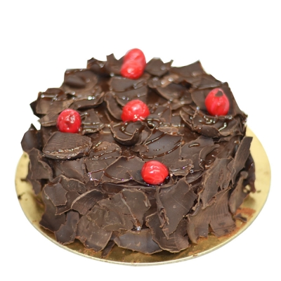 Exotic Black Forest Round 1 Kg Cake