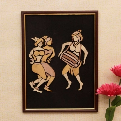 Adibashi Dance : Wooden Relief Paintings