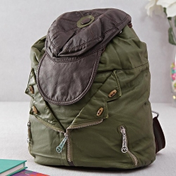 Fabulous Backpack with Zipper and Cap