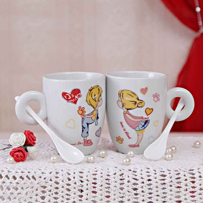 Marvelous Mugs and Spoons Set