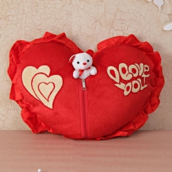 Heart Shape Soft toy with Teddy