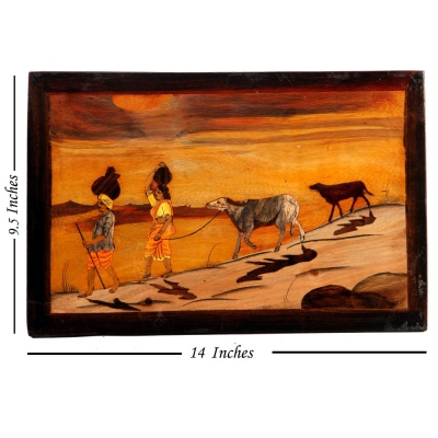 Sunset Sojourn Wooden Paintings
