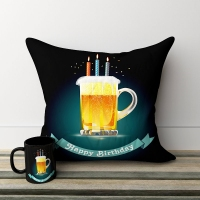 Birthday Pillow and Mug Combo