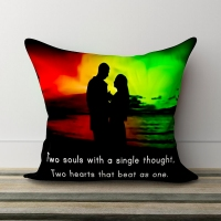 Two Souls Couple Pillow