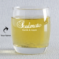 Soul Mate Personalized Whisky Glass