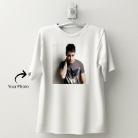 Personalized white cotton T-shirt 144