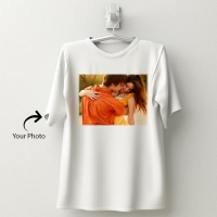 Personalized cotton white T-shirt 148