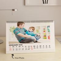 happy moments desktop calendar