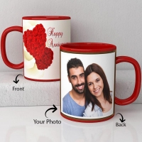 Personalized Anniversary Mug For Couples