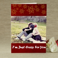 Crazy For U Personalized Greetings