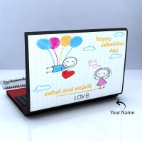 Cute Acrylic Sheet Personalized Laptop Skin