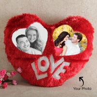Heart Shaped Personalized Pillow