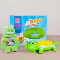 Baby Frame with Toilet Seat and Electric Toy
