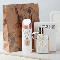 Tag-Her Imported Gift Set