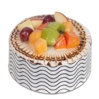 Fruit Glazed Cake
