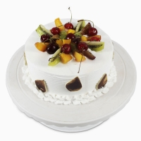 1 Kg Round Fresh Fruit Cake