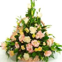 Beautiful Pastel Basket