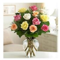 Sweetheart Mix Roses with Vase