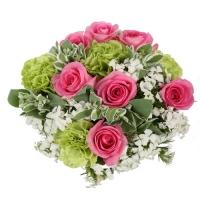 Beautiful Pink Roses Bouquet