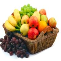 Elegant Seasonal Fruits Basket