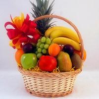 Exotic Fruits Basket arrangement