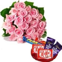 Pink Roses Love Hamper