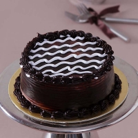 One Kg Round Chocolate Cake