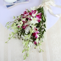 Beautiful Mixed Orchids Bouquet