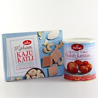 Kaju Katli and Gulab Jamun Combo for USA
