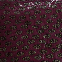 Designer Maroon Quilt for USA Delivery