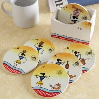 Colorful Image Printed Coasters