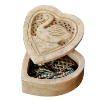 Embossed Heart Trinket