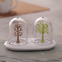 Glass Globe Spice Shakers