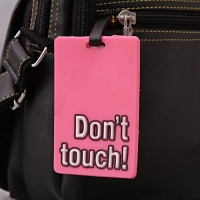 Dont Touch Luggage Tag