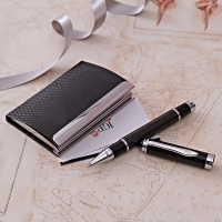 Premium Ball Point Pen with Visiting Card Holder