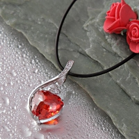 Magnificent Heart Shaped Pendant