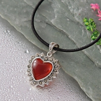 Alluring Heart Shaped Pendant