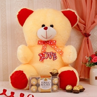 Love Bear n Rochers