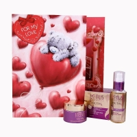Greeting Card with Lotus Herbals Skincare Hamper