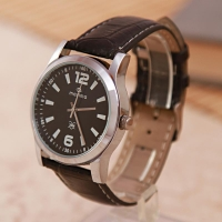 Maxima Watch with Black Dial for Men