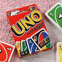 UNO Game with Customizable Wild Cards