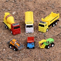 Construction Vehicles Toy Set of 6 Pieces