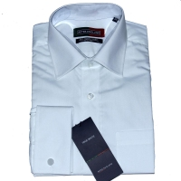 Anti Ageing Double Cuff White Shirt